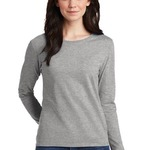 Ladies Heavy Cotton Long Sleeve T Shirt