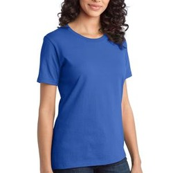 Ladies Ring Spun Cotton T Shirt