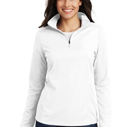 Ladies Pinpoint Mesh Pullover